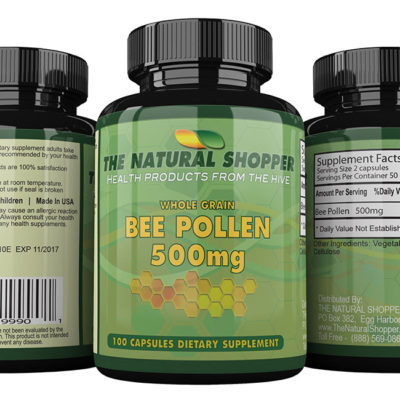Bee Pollen - wholegrain bee pollen granules