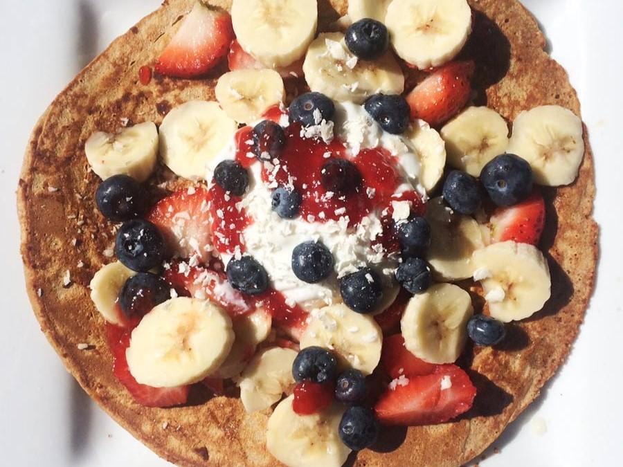 Healthy Pancake Recipe – No Added Sugar!