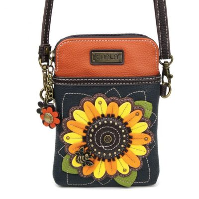 Chala-Sunflower-Cell-Phone-Crossbody-Front