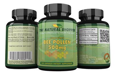 buy bee pollen capsules
